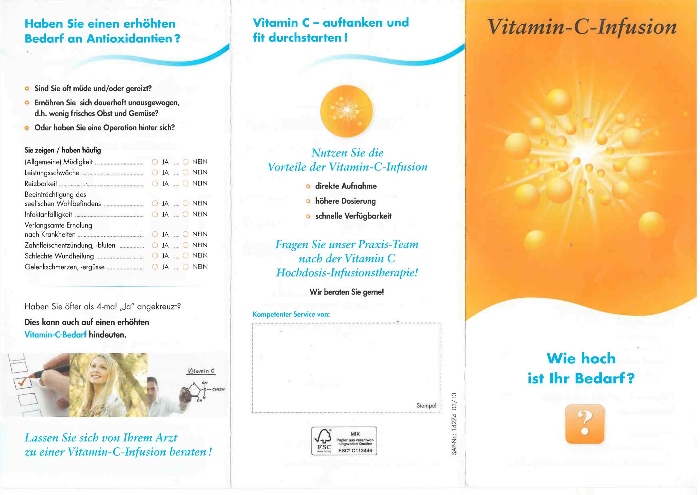 Vitamin C Vorderseite